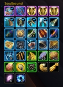 wow addon AdiBags — Soulbound