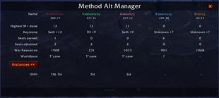 wow addon Alt Manager