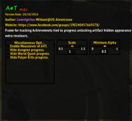 wow addon Alternate Artifact Appearance Achievement Tracker