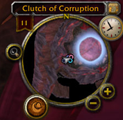 wow addon Analogue Clock