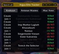 wow addon ArgusEliteTracker