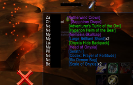 wow addon Assistant Red — Easy's Loot