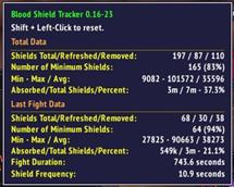 Blood Shield Tracker