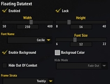 wow addon Cecile_MeterOverlay