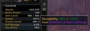 wow addon Character Info Durability