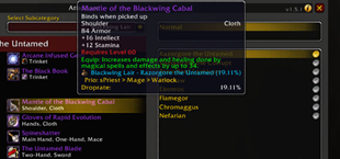 Checkmate Guild — Herod — Loot Priority Tooltips