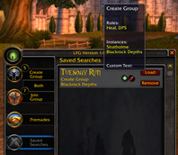 Classic Looking For Group