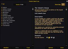 wow addon Classic Quest Log ElvUI Skin