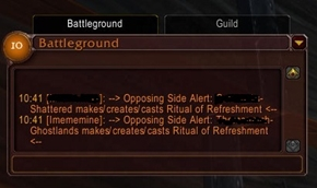 wow addon Come And Get It