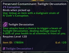 Corruption Tooltips