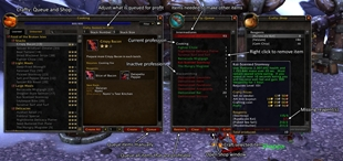 wow addon Crafty