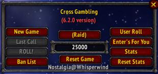 Cross Gambling