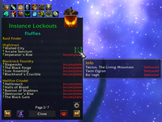 wow addon Daily Global Check_InstanceLockouts