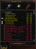 wow addon Dungeon Finder — Classic