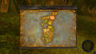 wow addon Enhanced World Map for WoW Classic