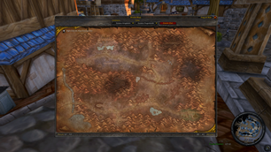Enhanced World Map for WoW Classic