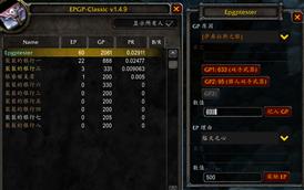 EPGP-Classic