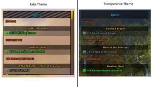 wow addon Eska Quest Tracker