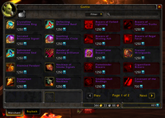 wow addon Extended Vendor UI