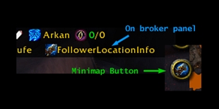 wow addon FollowerLocationInfo