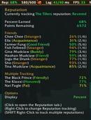 Glance Information Bar