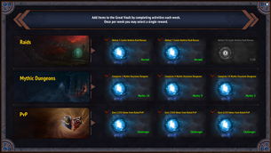 wow addon Great Vault Anywhere