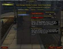 wow addon Guild Manager