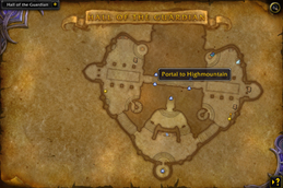 HandyNotes — Legion Class Order Halls