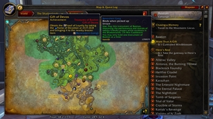 wow addon HandyNotes: Shadowlands Treasures (and rares)