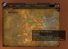 wow addon HandyNotes: Well Read