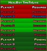 wow addon HealBot Plugin TimeToLive