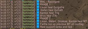 Healing Assigments