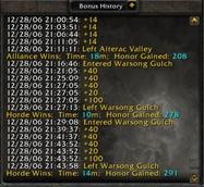 wow addon Honor Kills Counter