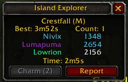 wow addon Island Explorer