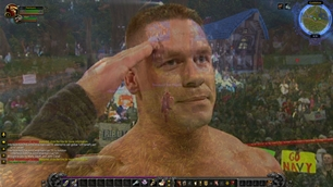 wow addon John Cena Level Up