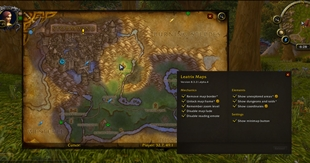 wow addon Leatrix Maps (Shadowlands)