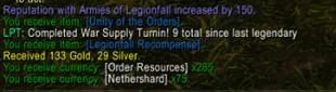 Legendary Progress Tracker