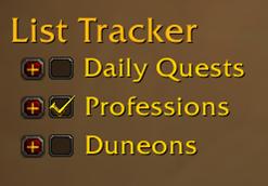 wow addon List Tracker