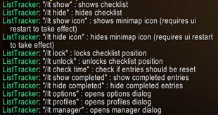 List Tracker