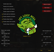 LPT Loot Roll (LLR)