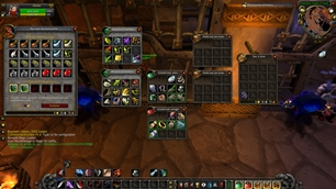 wow addon Movable Bags
