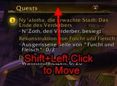 wow addon MoveAround
