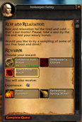 wow addon OneChoice