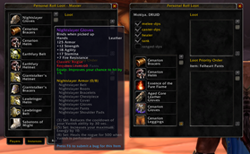 wow addon Personal Roll Loot Classic