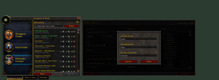 wow addon Premade Filter