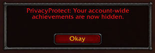 wow addon Privacy Protect