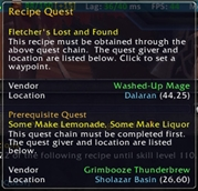 wow addon Profession Leveling Guide