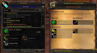 Profession Leveling Guide