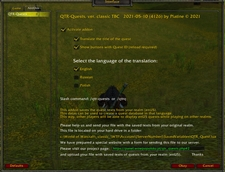 wow addon QTR-Quests