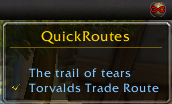 wow addon QuickRoutes